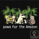 Paws For The Amazon - Lightweight Tee
