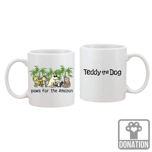 Paws For The Amazon - Coffee Mug