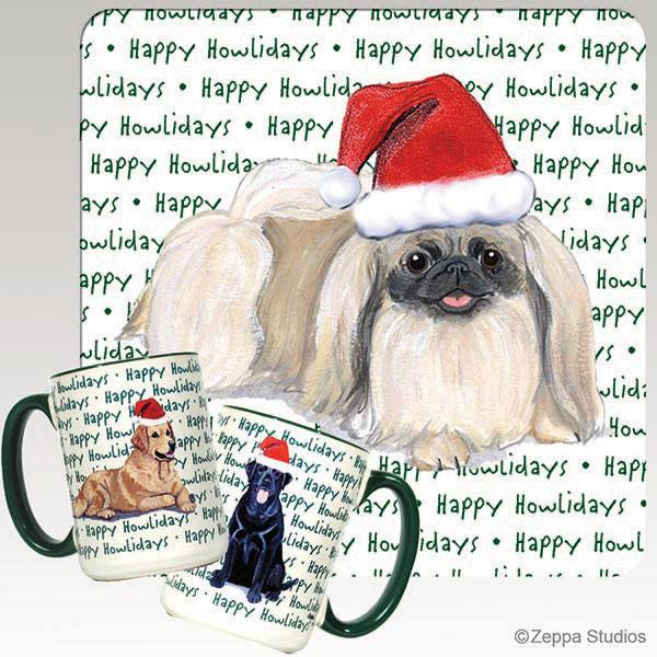 Pekingese Holiday Mug