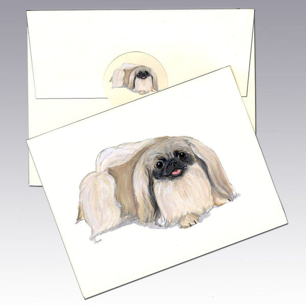 Pekingese Note Cards