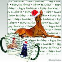 Pharaoh Hound Holiday Mug