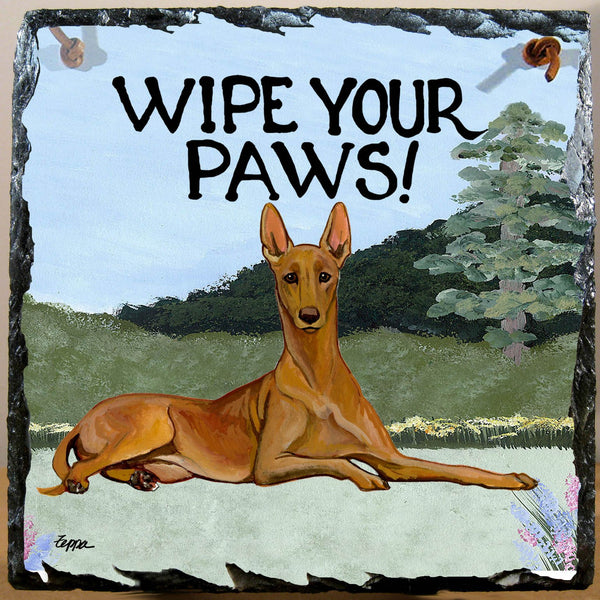 Pharaoh Hound Slate Sign