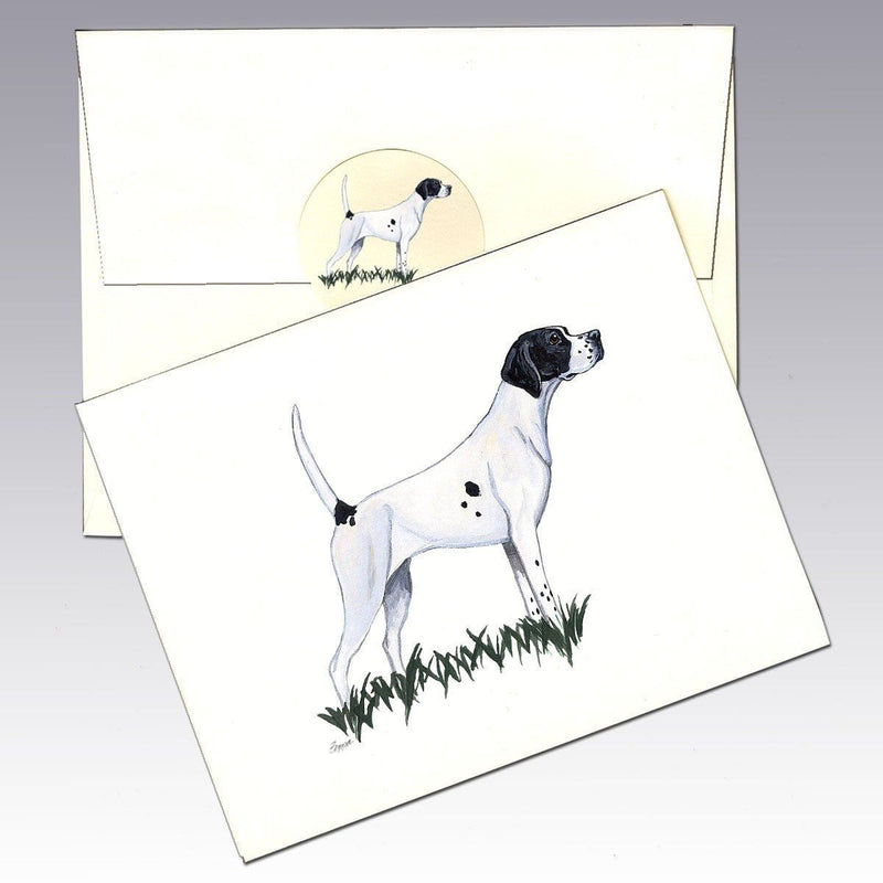 Pointer (English) Note Cards