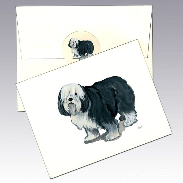 Polish Lowland Sheepdog Note Cards