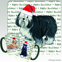 Polish Lowland Sheepdog Holiday Mug