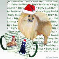 Pomeranian Holiday Mug