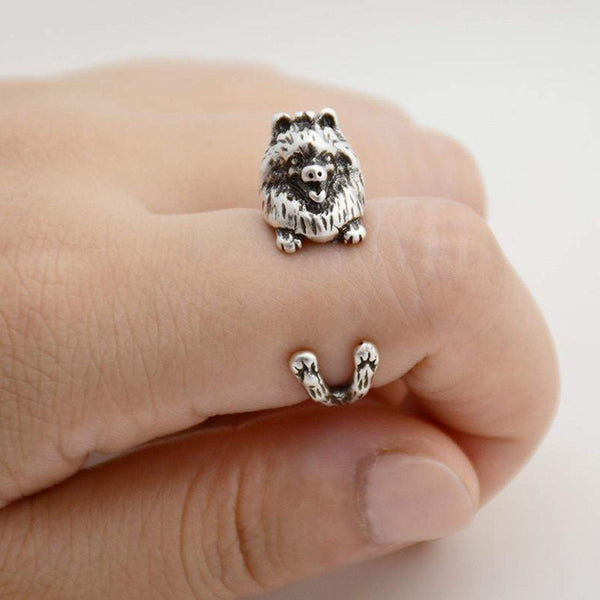 Pomeranian Wrap Ring