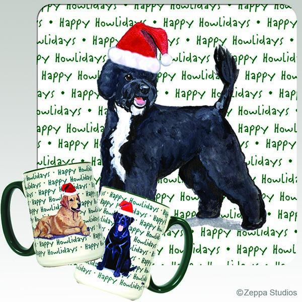 Portuguese Water Dog Holiday Mug