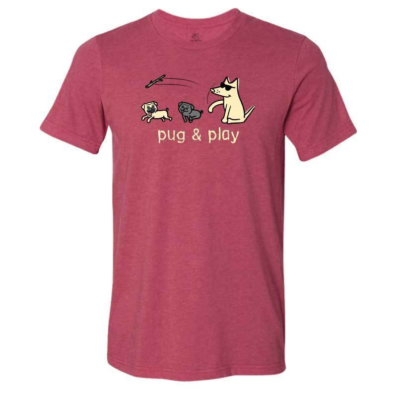 Pug & Play  - Lightweight Tee