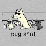 Pug Shot - Lightweight Tee