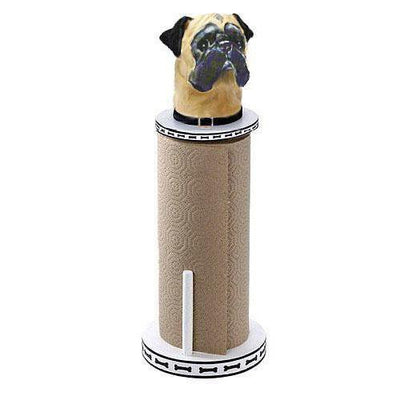 Pug Paper Towel Holder
