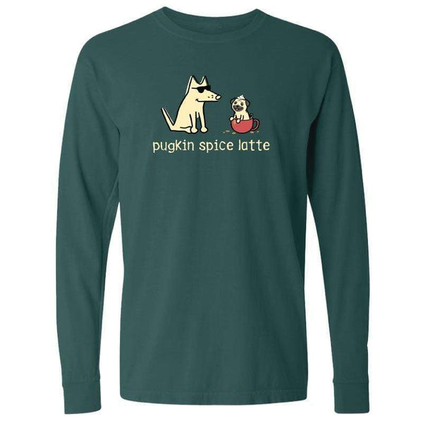 Pugkin Spice Latte  - Classic Long-Sleeve T-Shirt