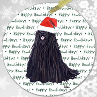 "Puli ""Happy Howlidays"" Ornament"