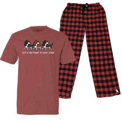 Put A Springer In Your Step - Pajama Set