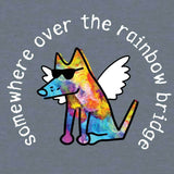 Somewhere Over The Rainbow Bridge - T-Shirt Lightweight Blend