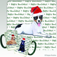 Rat Terrier Holiday Mug