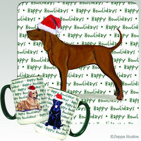 Redbone Coonhound Holiday Mug