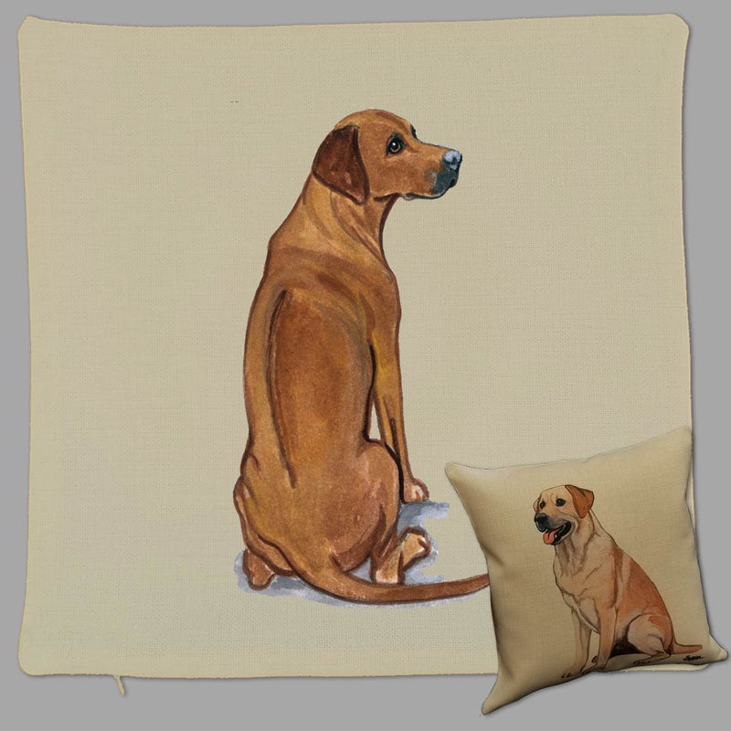 Rhodesian Ridgeback Pillow Cover