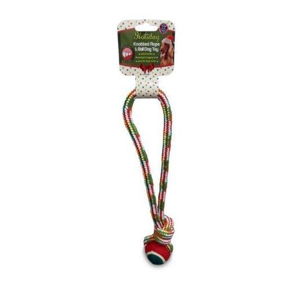 GWP Holiday Rope Toy