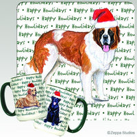 Saint Bernard Holiday Mug