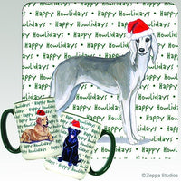 Saluki Holiday Mug