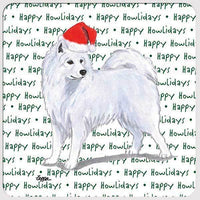 "Samoyed ""Happy Howlidays"" Coaster"