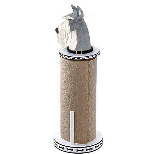 Miniature Schnauzer Paper Towel Holder