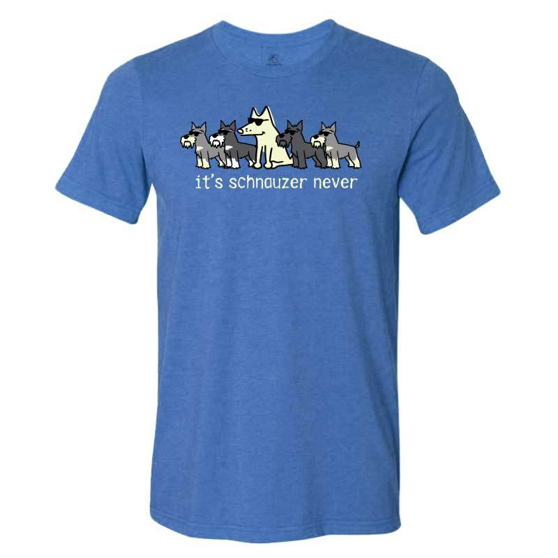 It's Schnauzer Never - Lightweight Tee