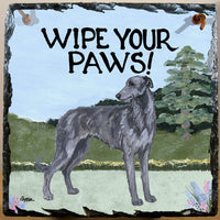 Scottish Deerhound Slate Sign