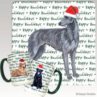 Scottish Deerhound Holiday Mug