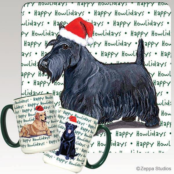 Scottish Terrier Holiday Mug
