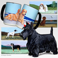 Scottish Terrier Scenic Mug