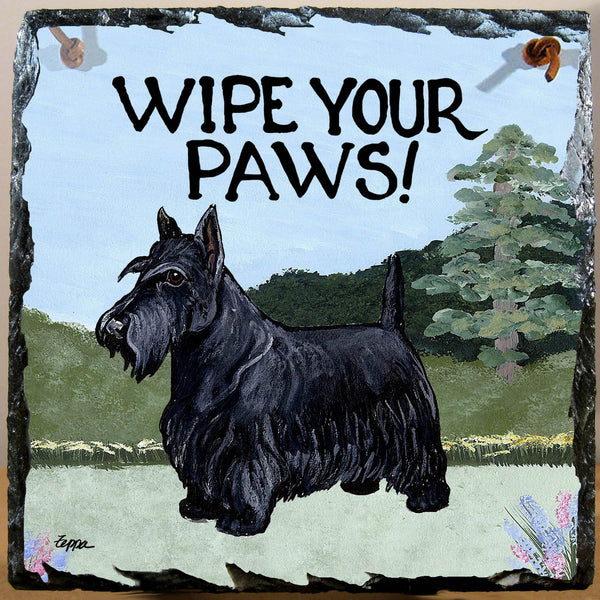 Scottish Terrier Slate Sign