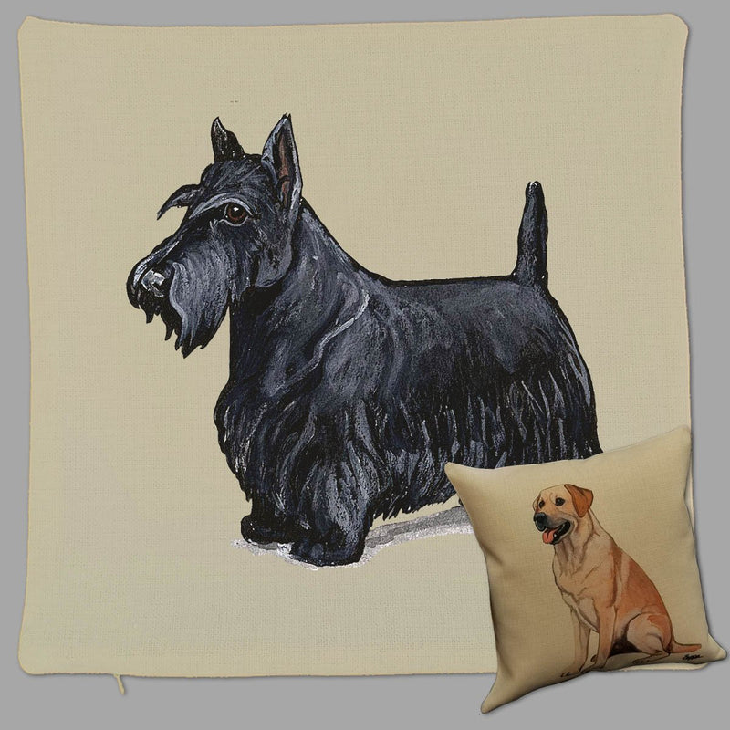 Scottish Terrier Pillow Cover