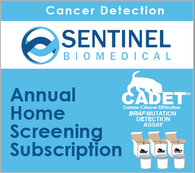 CADET® BRAF Cancer Detection - 3 Tests - Annual Home Screening Subscription