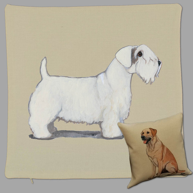 Sealyham Terrier Pillow Cover
