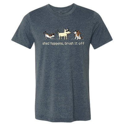 Shed Happens, Brush It Off - Lightweight Tee