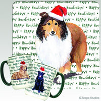 Shetland Sheepdog Holiday Mug