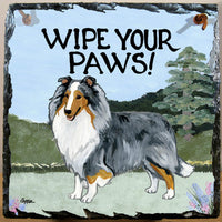Shetland Sheepdog Slate Sign