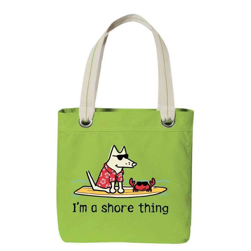 I'm A Shore Thing - Canvas Tote