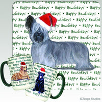 Skye Terrier Holiday Mug