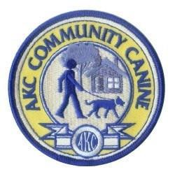 AKC Community Canine Patch