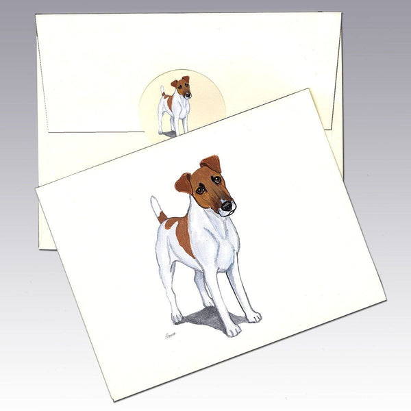 Smooth Fox Terrier Note Cards