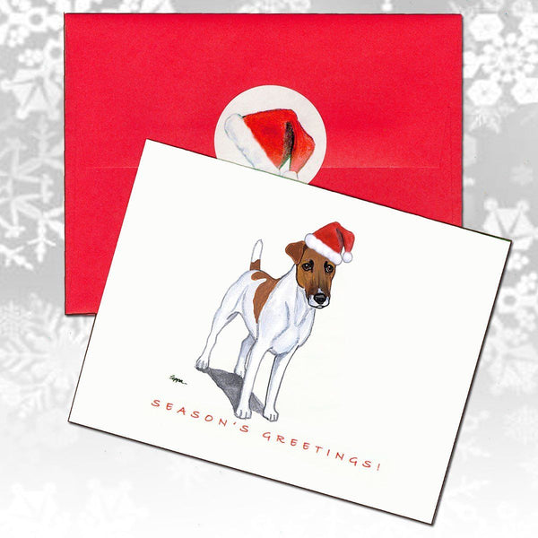 Smooth Fox Terrier Christmas Note Cards