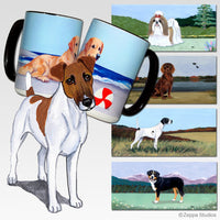 Smooth Fox Terrier Scenic Mug