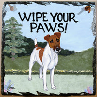 Smooth Fox Terrier Slate Sign