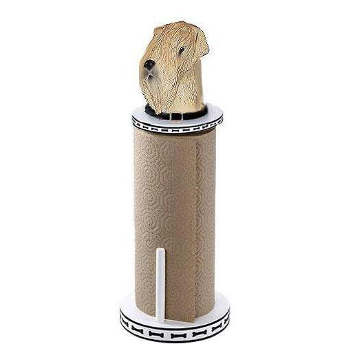 Soft Coated Wheaten Terrier Paper Towel Holder