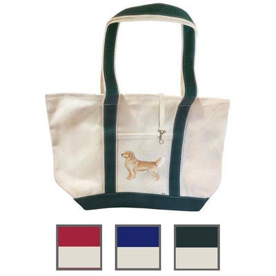 Hand-Painted Dog Breed Tote Bag - Sporting Group