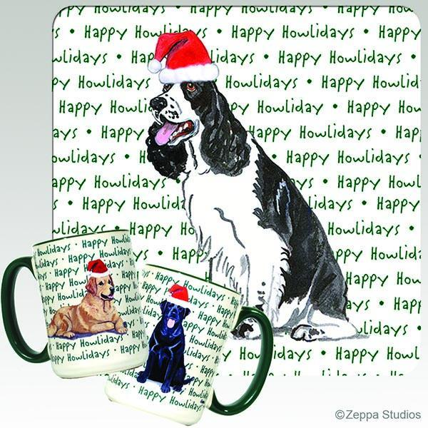 English Springer Spaniel Holiday Mug