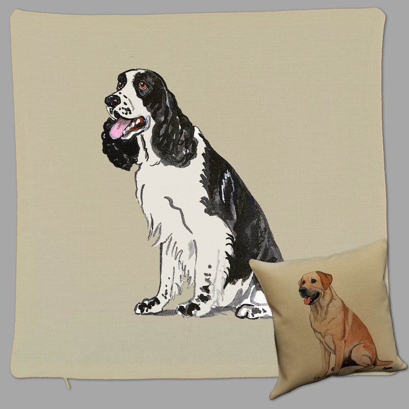 English Springer Spaniel Pillow Cover